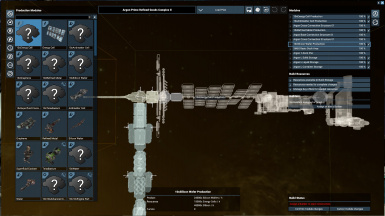 10x Station Production Module Variants