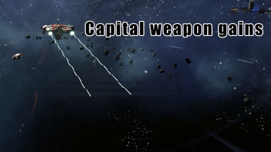 Capital weapon gains