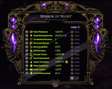 Mirror of Night Extended