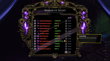 YAMONM - Yet Another Mirror Of Night Mod
