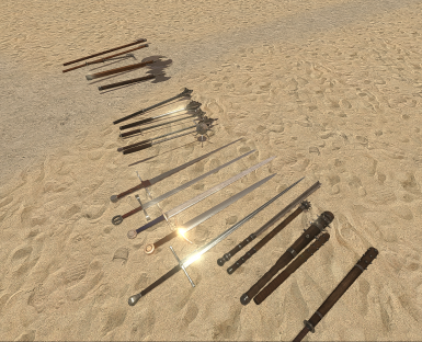 Drag's Medieval Weapon Pack