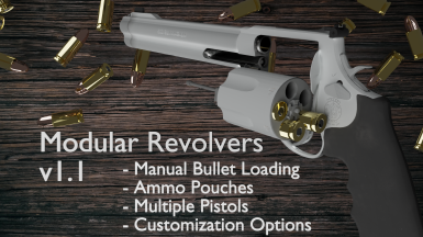 Fisher's Modular Revolvers (Manual Reloading)