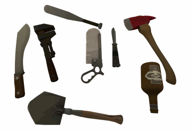 Beed's Team Fortress 2 Melee Weapons