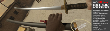 MumyouKatana with Sheath (U8.3)
