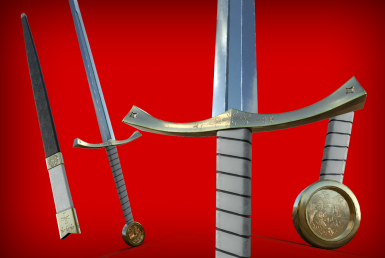 Royal Long Sword (with scabbard)