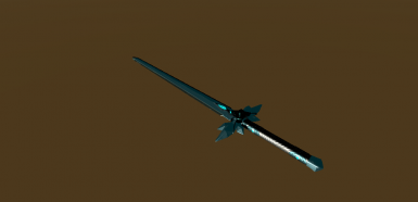 Blue Rose Sword with Frostbite
