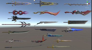 Final Fantasy Weapon Pack 9.3 compatible