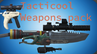 Tacticool Weapons pack