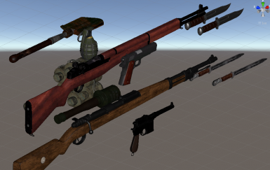 World Wars Weapons Pack