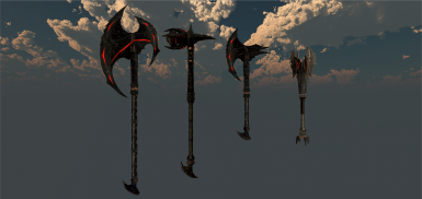 1.3! The rest of the daedric melee weapons :)
