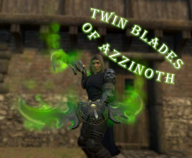 The Twin Blades of Azzinoth from World of Warcraft