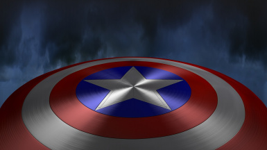 Captain America's Shield (Clay's Version)