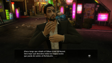 Standard Majima with Beard - Majima con Barba