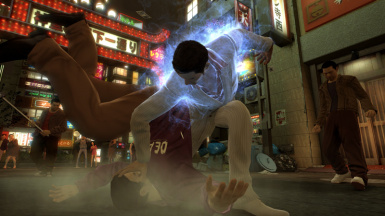The back-up files for the original moveset for Kiryu and Majima.