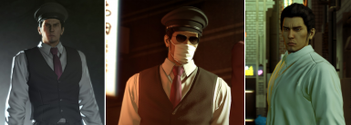 Taxi Cap, Mask and Glasses, Without West (Kiwami face only)
