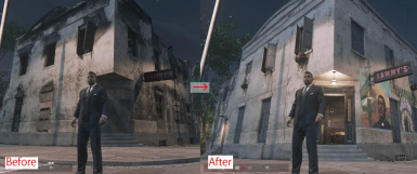 Mafia III MOD Restore Burned Sammy's Bar