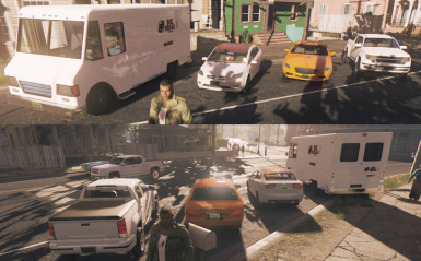 Mafia III MOD 21th Century Modern Cars in Traffic