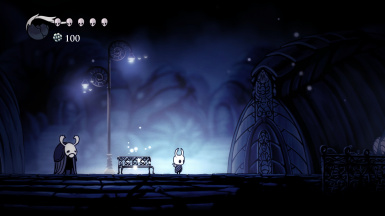 Hollow Knight in normal 16:9