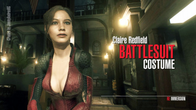 Claire Redfield Battlesuit Costume