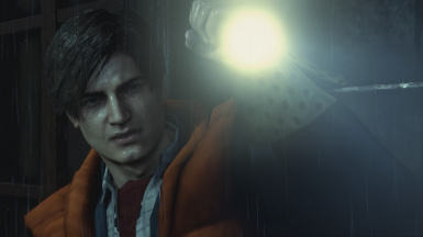 Leon as Marty McFly