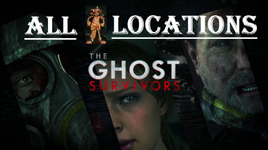 All 10 Mr. Raccoon Locations (The Ghost Survivors DLC)