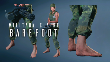 Barefoot Claire (Military)