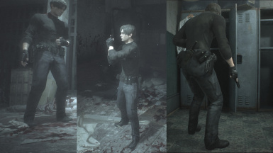 Leon Re6 Debug Outfits At Resident Evil 2 2019 Nexus Mods And