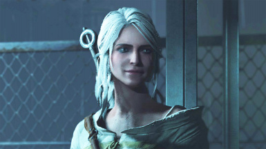 Ciri from The Witcher 3 - Replacing Claire (Noir)
