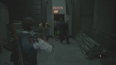 Flying Umbrellas 98 Atr At Resident Evil 2 2019 Nexus Mods And Community