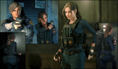 Claire - RPD Military