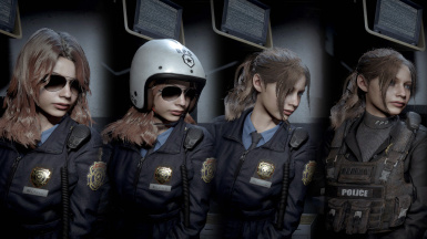 Claire (RPD) - Motorcycle Policewoman
