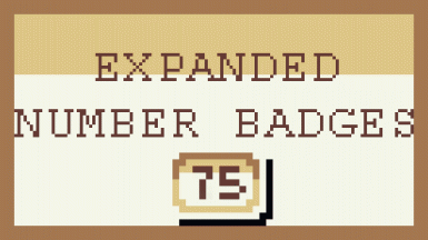 Expanded Number Badges