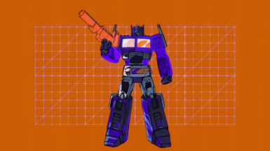 Unicron's Antibots (NEON PURPLE AUTOBOTS AND NEW MENU)