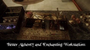 Better alchemy and enchanting workstations