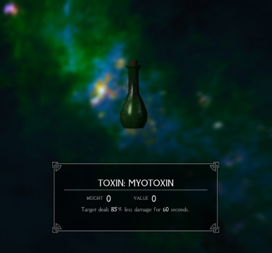 Alchemy Toxins and Serums - Enderal Edition
