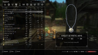 Enderal- Fortify Bound Weapon Damage Enchant