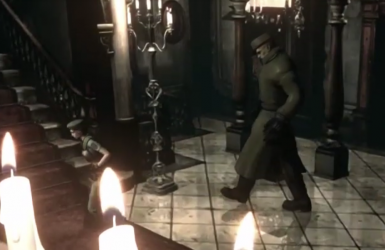 Resident Evil Remaster - Mr X with Fedora Hat Mod
