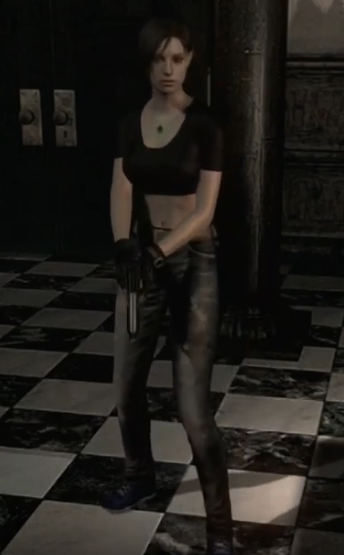 Resident Evil 1 Remaster - Jill Valentine Alternative Costume from RE1 1996 Mod