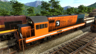 Derail Valley Railworks and Transportation skins for DE6