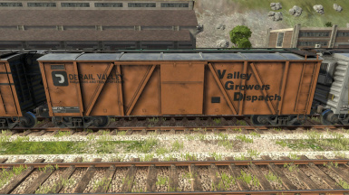 Derail Valley Railworks and Transportation skins for boxcars and reefers
