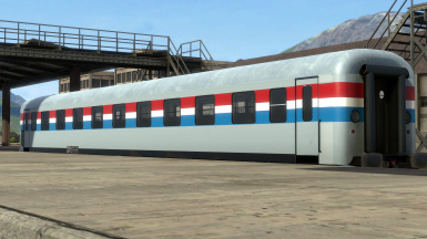 Amtrak phase 3 coach