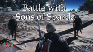 Battle with Sons of Sparda