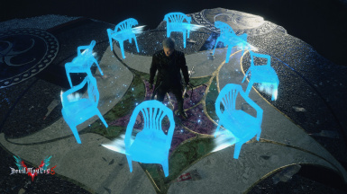 Vergil's Summoned Chairs