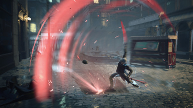Red Vergil effects
