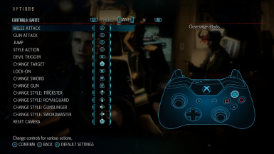 DS4 and Switch Pro Controller Button Layout at Devil May Cry 5 Nexus