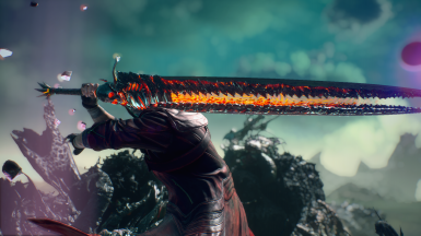 Rebellion's Hilt for Devil Sword Dante