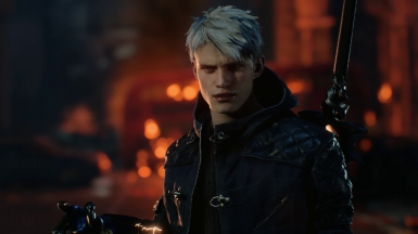 DmC Dante's Long Hair for Nero