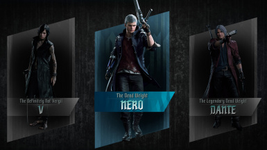 All 3 characters got their titles upgraded with the optional file.