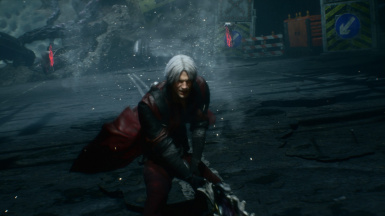 sleeved dmc1 inspired colors Dante (no shoulder pads)