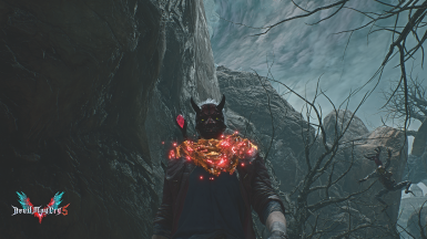 Oni Mask for Dante replace Dr Faust